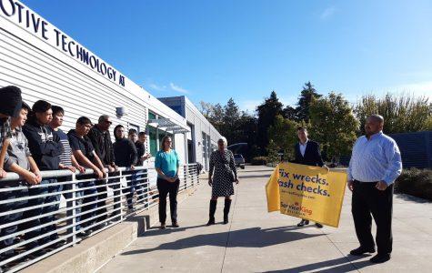 Collision program receives partnership