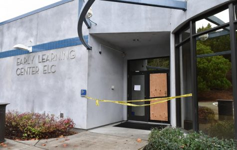 Learning Center vandalized