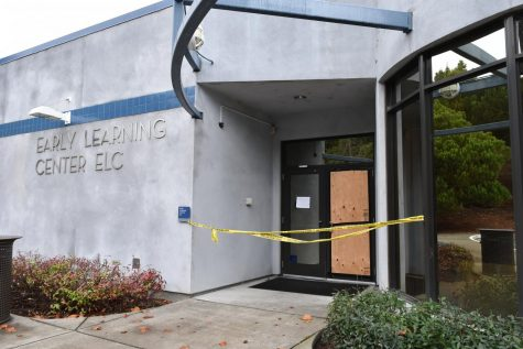 Learning Center vandalized