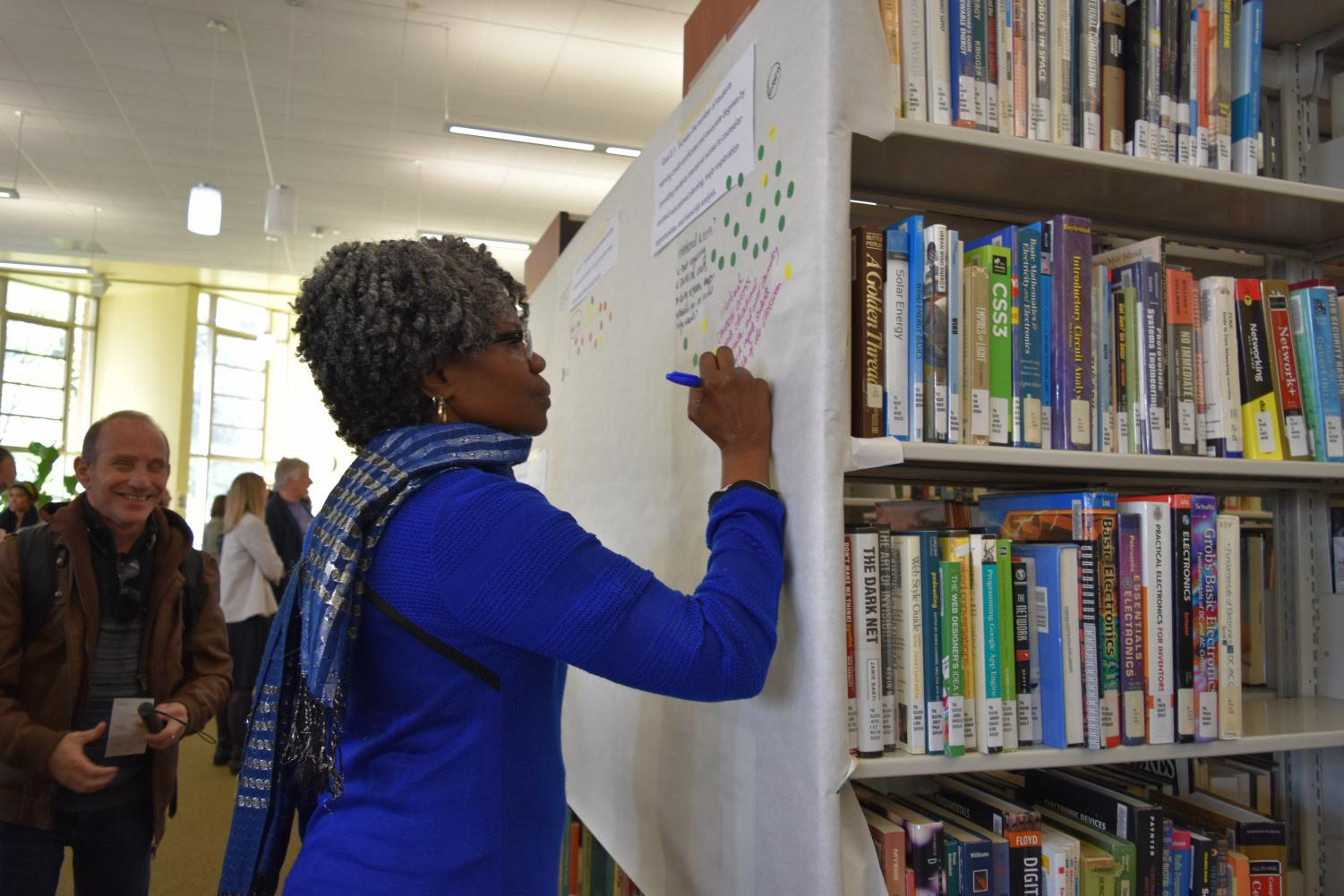 Health and human services department Chairperson Aminta Mickles writes her thoughts about the Strategic Plan  presented in the Library on Jan. 24.