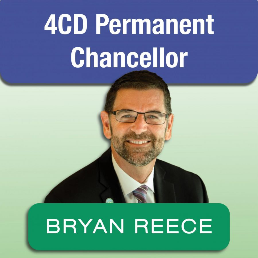 Bryan+Reece%2C+Ph.D.+was+selected+as+the+permanent+chancellor+of+Contra+Costa+Community+College+District+on+Sept.+22.