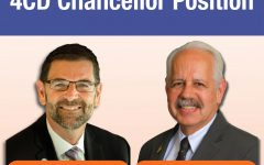 The Governing Board of the Contra Costa Community College District issued a press release on Friday night revealing Bryan Reece, Ph.D., and Dr. Raúl Rodríguez, Ph.D., are being considered for the chancellor position.