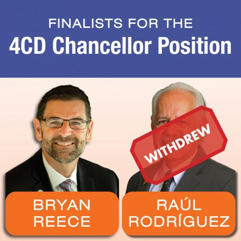 Chancellor finalist pulls from candidacy