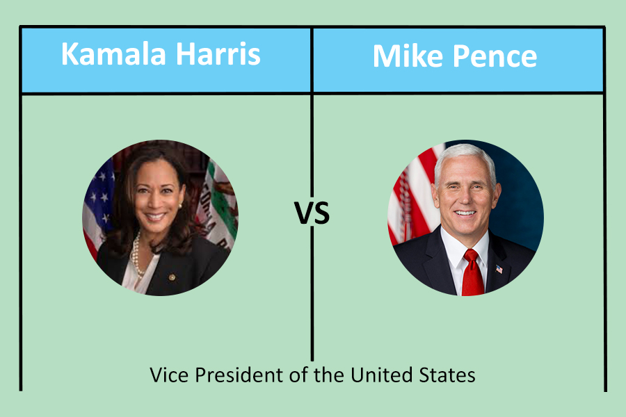 Kamala Harris and Mike Pence face off in first vice-presidential debate