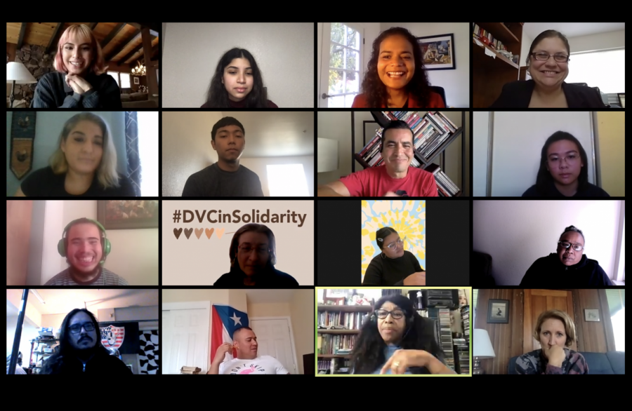 Screenshot Social Justice Day Forum Nov. 19, Zoom Teleconference.